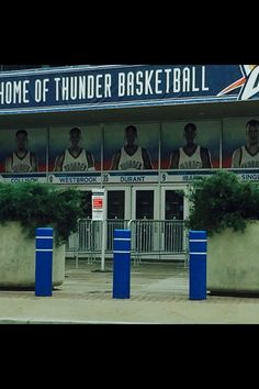 went to see okc thunder play !