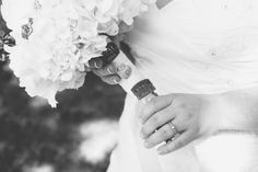 Her grandfathers badges from when he worked as Arizona law enforcement! Loved the details of this wedding!  Cheyenne & Crystal Photo By Erin Powell Photography