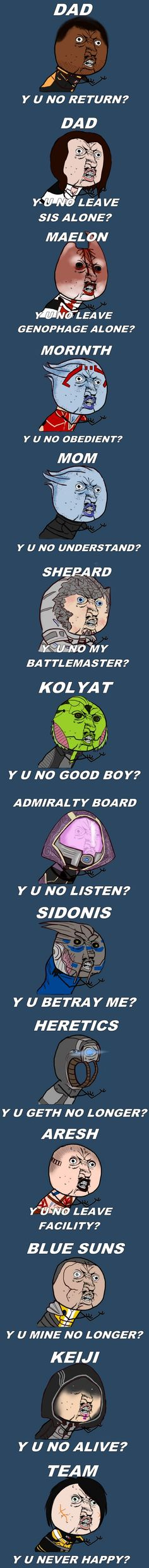 Mass Effect Crew, y u no ever happy?!