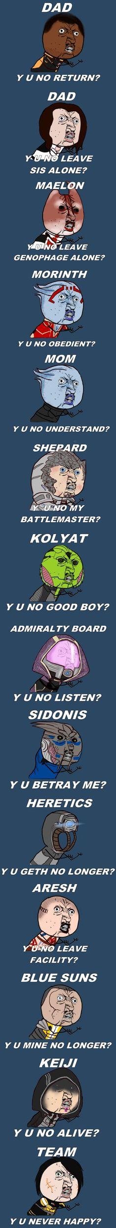 Mass Effect Crew, y u no ever happy?!