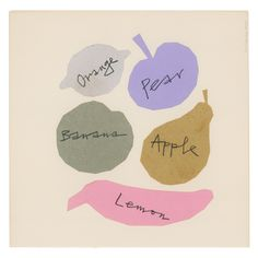 Fruit Artistic License | Alan Fletcher