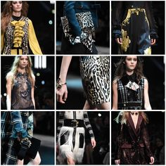 Take a closer look to the best details from the #RobertoCavalli FW 15-16 fashion show: http://on.fb.me/1ECw1mO  #MFW