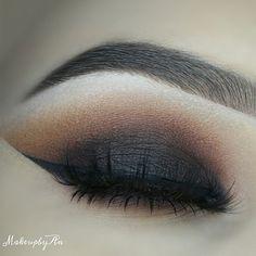 smokey eye make-up Love Makeup, Makeup Inspo, Makeup Inspiration, Makeup Tips, Makeup Looks, Hair Makeup, All Things Beauty, Beauty Make Up, Hair Beauty