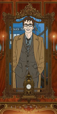 Doctor Who (Ten) - Allons-y by Bill Mudron