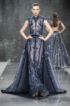 06b867c9b72 Défilé Ziad Nakad automne-hiver 2018-2019 Couture. Ball GownsEvening  DressesProm ...