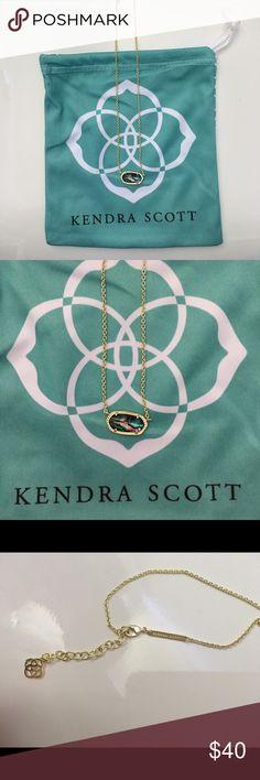 Kendra Scott Abalone Shell Necklace gold kendra scott abalone necklace Kendra Scott Jewelry Necklaces