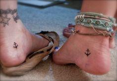 anchor friendship tattoo K-wanna get matching tattoos? :)