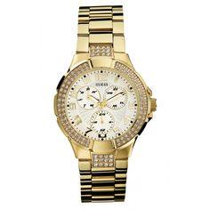 Montre Guess I16540L1 - femme  - marque : Guess Montres Retrouvez les meilleures montres Guess: Montre Guess I16540L1 - femme Boite métal doré cristal, fond blanc irisé, multifonction.    Type : Montre  MARQUE : Guess  Genre : Femme ... prix : 219.00 €  chez Bijourama #GuessMontres #Bijourama