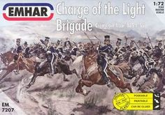 Emhar Model Kit - Crimean War Charge of the Light Brigade - 1:72 Scale - 7207