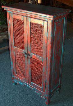 Image detail for -taos pie safes with tamarisk salt cedar twig inserts