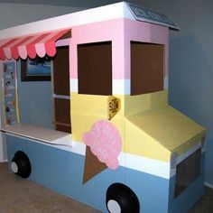 Ice Cream Truck For An Ice Cream Party. Too cute.