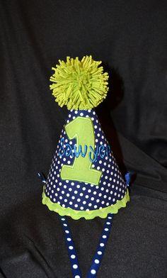 Birthday Party Hat {First Birthday}
