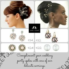 Wedding season is coming. Shop the Bridal Shop for these and other bridal party gifts at www.chloeandisabel.com/boutique/kristinlutrell #jewelry #brides #bridal #gifts #wedding #bridesmaids