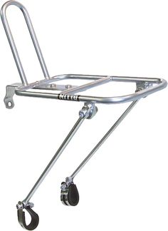 FOR ROSSI: Nitto M18 Front Rack Mount Bicycle Rack: Silver