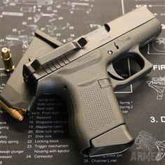 Clipdraw klip pro skryté nošení pistole Glock 43 | Armed army shop