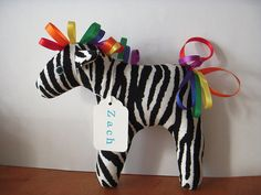 I love this little stuffed animal... I'm gonna make me one... it's gonna be so cute with my pink mane to represent my Pink Zebra business..
