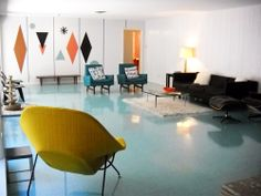 Wilsonart laminate king Ralph Wilson's beautiful mid cent house, which you can tour in Texas. Road trip anyone?
