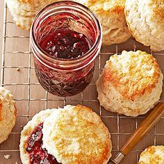 Blackberry-Port Jam From Better Homes and Gardens, ideas and improvement projects for your home and garden plus recipes and entertaining ideas.