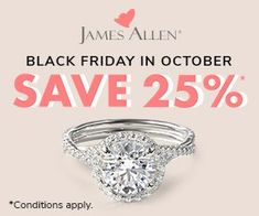 An Early Black Friday Sale with off selected rings. Early Black Friday, Home Buying, Wedding Rings, Engagement Rings, Crystals, Diamond, Jewelry, Enagement Rings, Jewlery