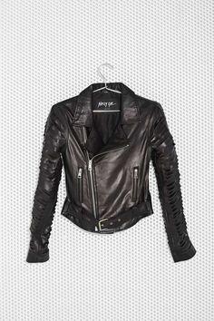 Nasty Gal Revolution Leather Jacket - Jackets + Coats |