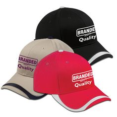 Imprinted Big Accessories Sport Wave Baseball Cap (Q704245)