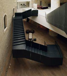 Mamilla Hotel by Lissoni Associati - Lissoni Architettura Lounge, Hotel Interiors, Modern City, Interior Design Tips, Interior Sketch, Staircase Design, Home Look, Hospitality Design, Jerusalem