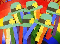 a bunch of cute preschool ideas for St. Patrick's day
