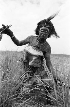 Pwo Mask Dancer, Gungu, Congo.