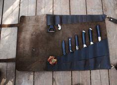 Valentine's Day Sale Chefs Knives Roll Gift for Him от YaelHeffer