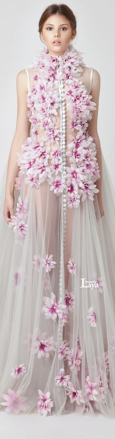 JEAN LOUIS SABAJI S/S 2015 | House of Beccaria~