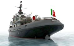 Vervece - refitted tugboat - Napoli