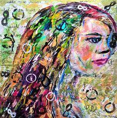 Infinity by Lisa McKinney Mixed Media ~ 20 x 20