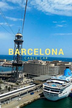 Barceloneta to Montjuic or Montjuic to Barceloneta. The Barcelona cable has been a mainstay of the harbour skyline for decades.