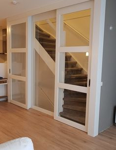 Open Trap, Home Entrance Decor, House Entrance, Home Stairs Design, House Design, Creation Homes, Loft Room, House Stairs, Stairways
