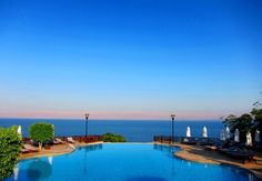 Jordan Valley Marriott Resort and Spa (400 metres below sea level) and right next to the Dead Sea.