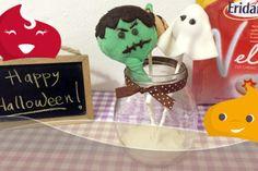 Ricetta Cake Pops decorati per #Halloween #ricetta #cakepops #sugar #dolci #dolcetti #festa #eridania #Velo #zucchero #bambini