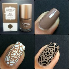 Moyou London Cappuccino.   http://www.crazypolishes.com/2016/08/review-and-swatch-moyou-london-stamping.html