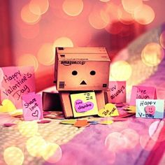 ImageFind images and videos about box, Valentine's Day and danbo on We Heart It - the app to get lost in what you love. Danbo, Miss Piggy, Happy Love, Happy Day, Legos, Box Robot, Amazon Box, Mini, Cute Box