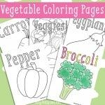 Vegetables Coloring Pages – Free Printable