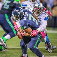 Ziggy Ansah is tied for second in the NFL with four sacks this season. #OnePride 2015