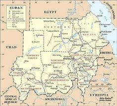 Sudán es el país más grande de África. Aunque hace frontera con dos países muy turísticos como son Egipto y Kenia, en la actualidad sufre en su territorio el llamado Conflicto de Darfur, un enfrentamiento militar entre tribus que ha provocado miles de muertos y refugiados y que hacen que no sea éste un país muy frecuentado por turistas.