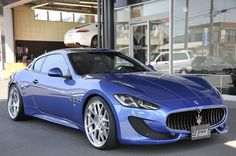 Haven't ever seen this colour on a Maserati before