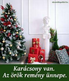 Rövid karácsonyi idézetek Christmas Tree, Holiday Decor, Home Decor, Teal Christmas Tree, Decoration Home, Room Decor, Xmas Trees, Christmas Trees, Home Interior Design