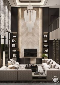 Super ideas for contemporary living room lighting wood beams New Living Room, Living Room Modern, Living Room Interior, Living Room Decor, Modern Couch, Interior Livingroom, Spacious Living Room, Formal Living Rooms, Modern Chairs