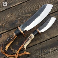 "504 Likes, 6 Comments - Behring Made Knives (@behringmade) on Instagram: ""The @behringmade Parang set in Sambar Stag is a killer set up for just about anything from skinning…"""