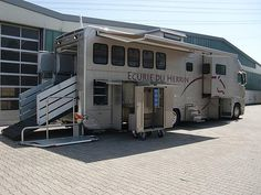 Ketterer Horse Trailer...one word: WOW! It's a trailer and RV in one!