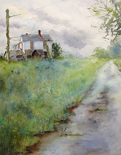 Abandoned by Judy Mudd Watercolor ~ 16 x 12