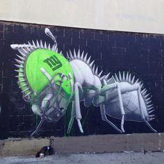 Work by @thisisludo in #Bushwick #Brooklyn #NewYork #Streetart #Ludo #StreetartNewYork #NewYorkStreetart by toris64