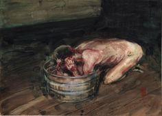 George Pratt - watercolor