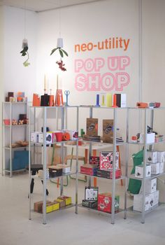 Neo Utility Pop-Up Shop
